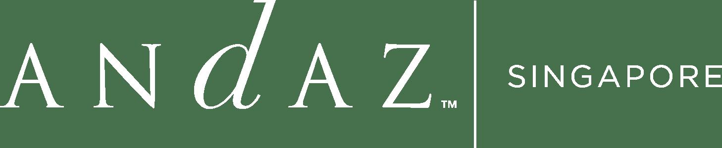 Andaz Singapore logo white