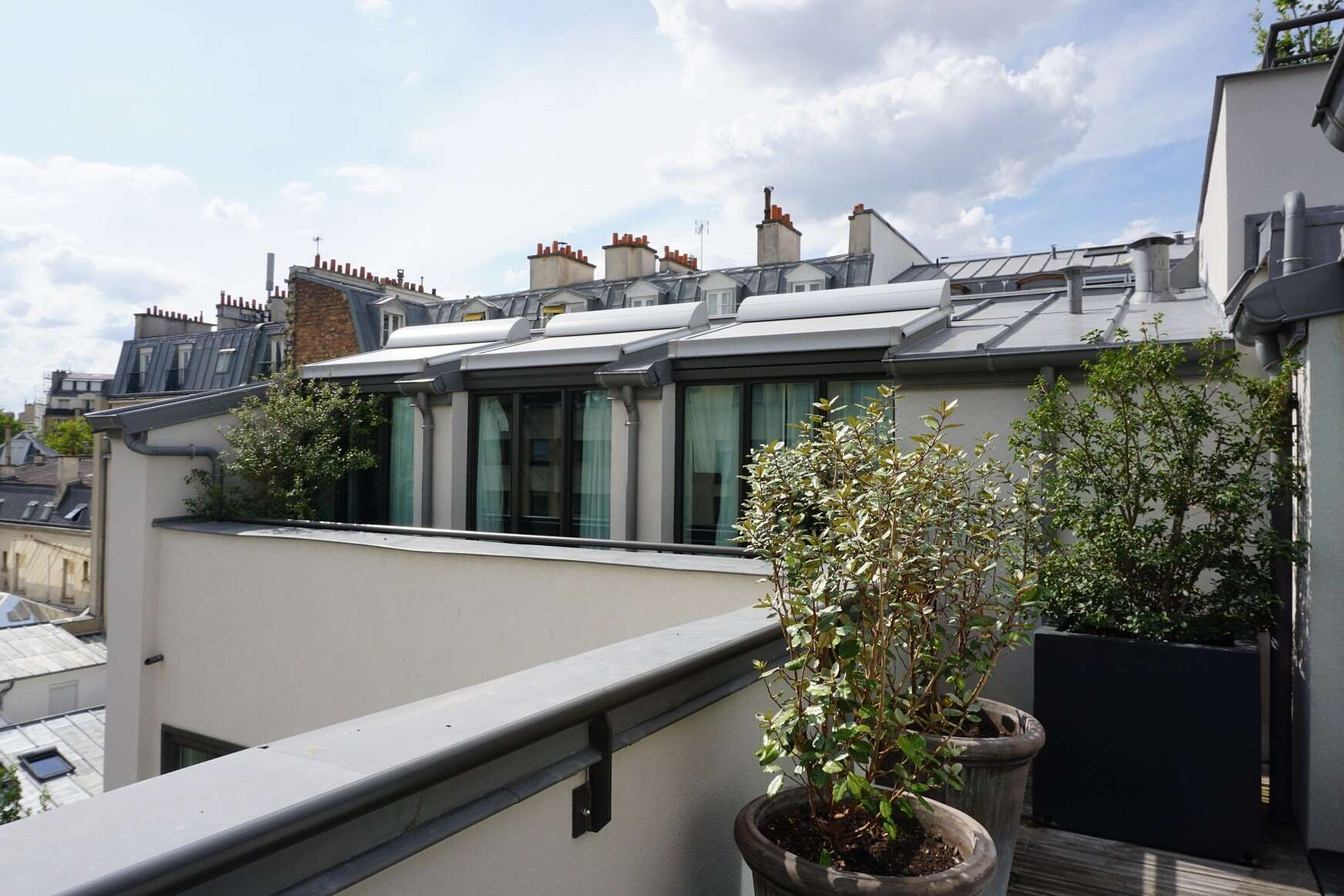 Balcony Maison Breguet Hotel Paris