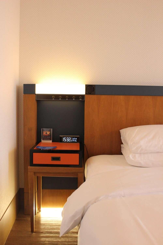 Hilton Nagoya Room Bed