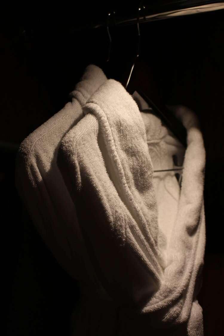 Hilton Nagoya bath robes