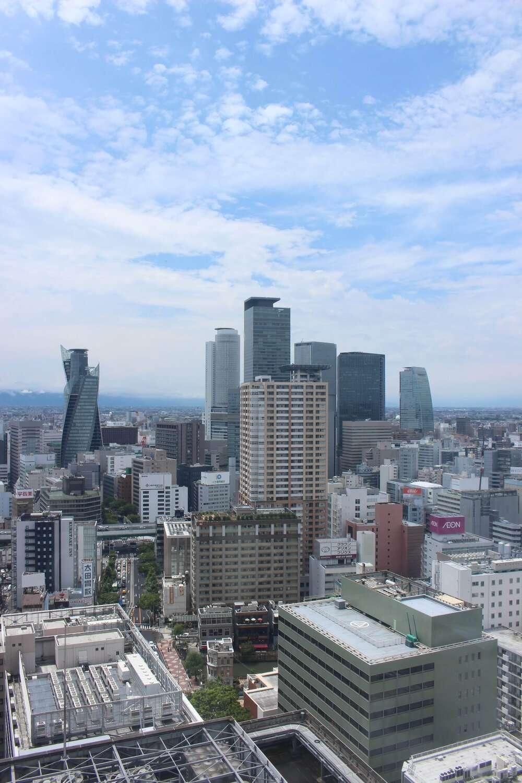 Hilton Nagoya view of Nagoya city