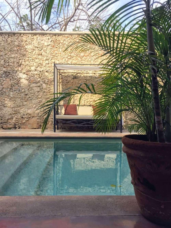 Hotel Hacienda Merida swimming pool