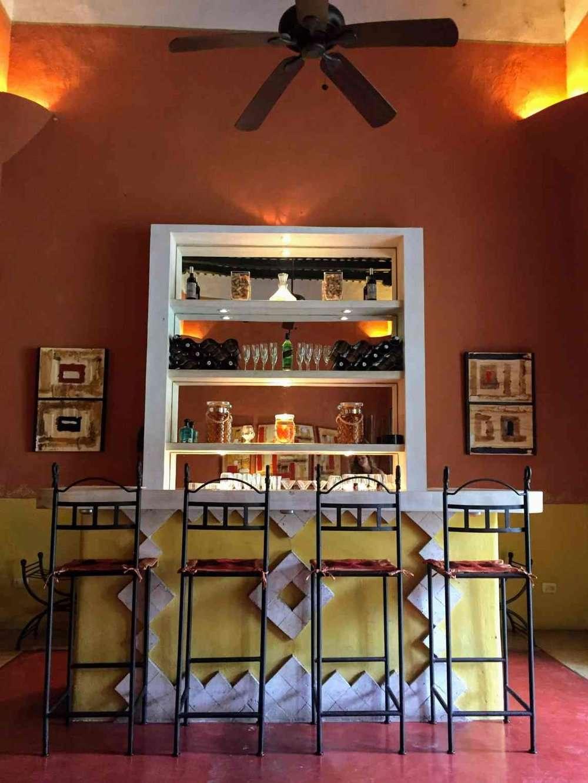 Hotel Hacienda Merida bar