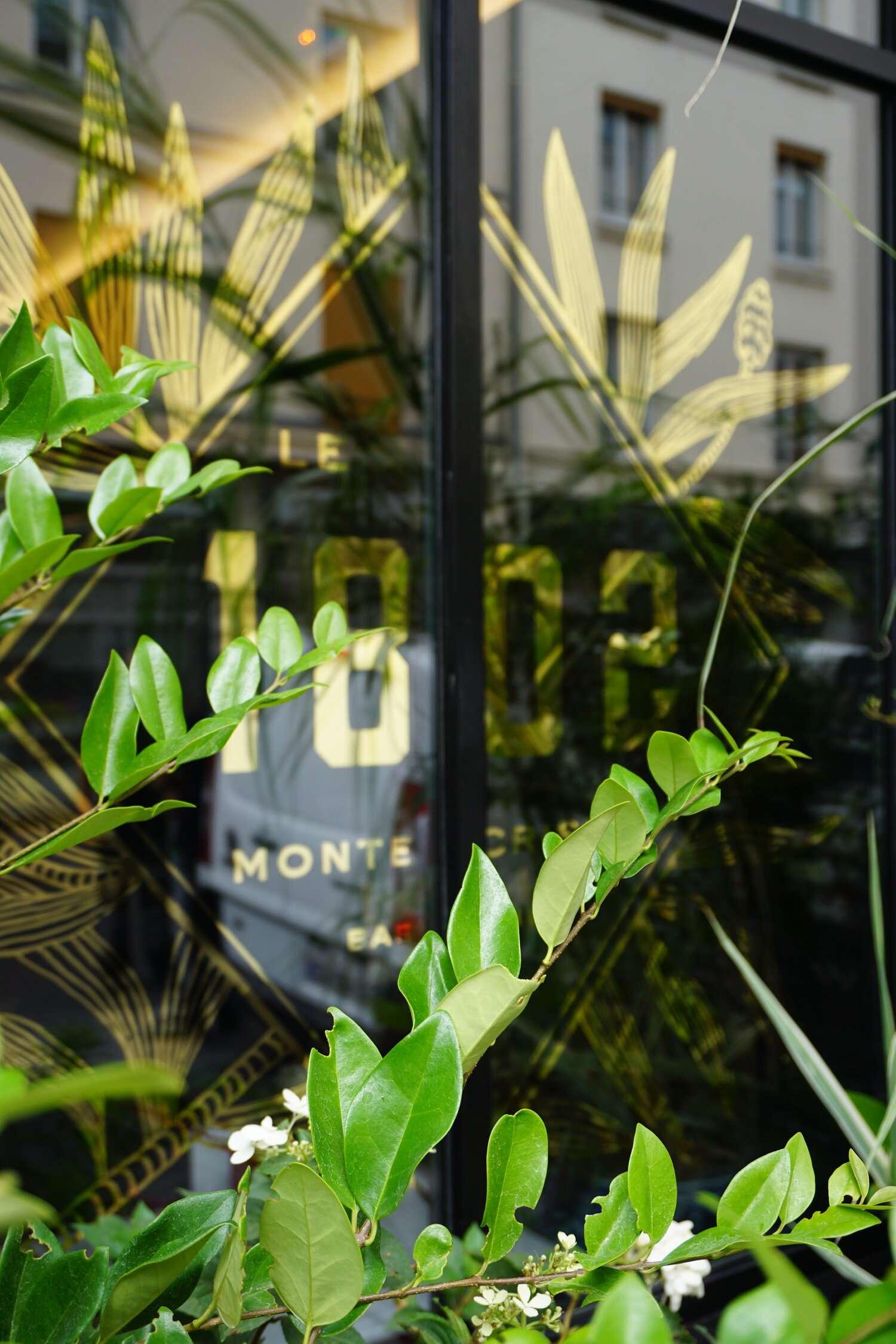 plants decorate the exterior of Hotel Monte Cristo Paris