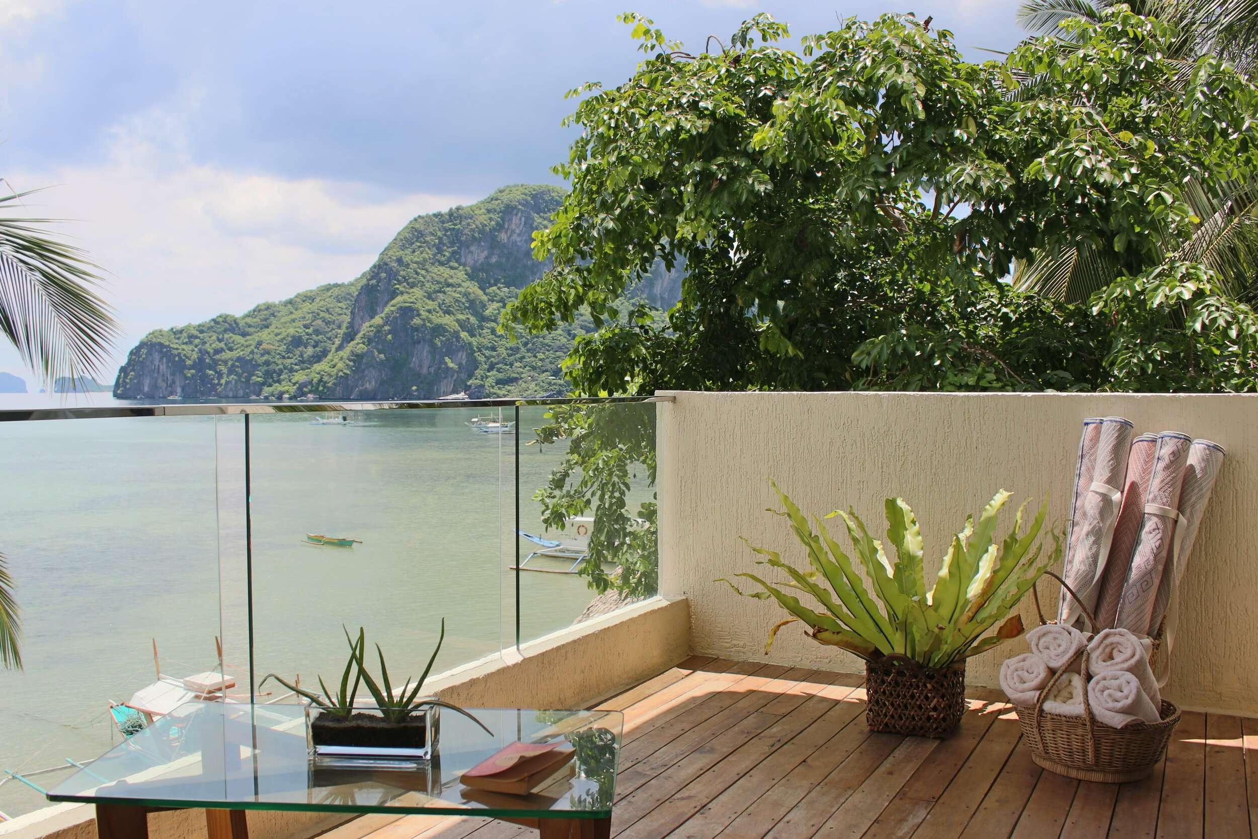 Frangipani El Nido Suite Balcony View