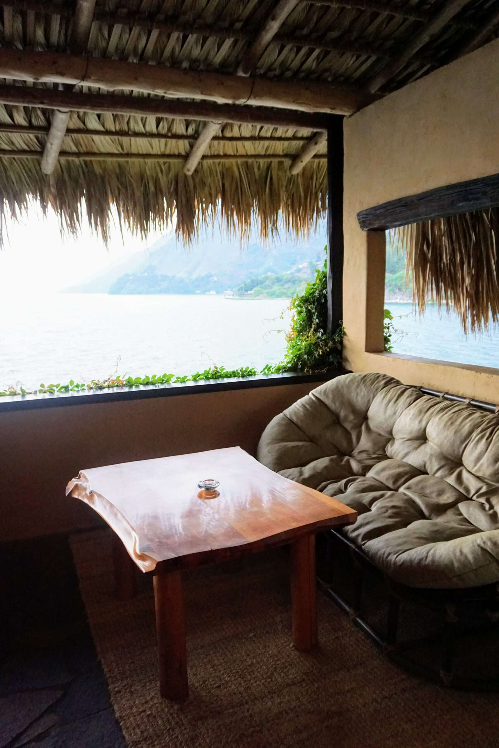 Laguna Lodge Hotel in Lake Atitlan terrace