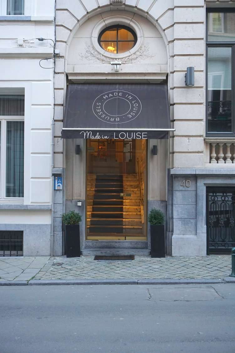 Made in Louise Boutique Hotel in Brussels, Belgium