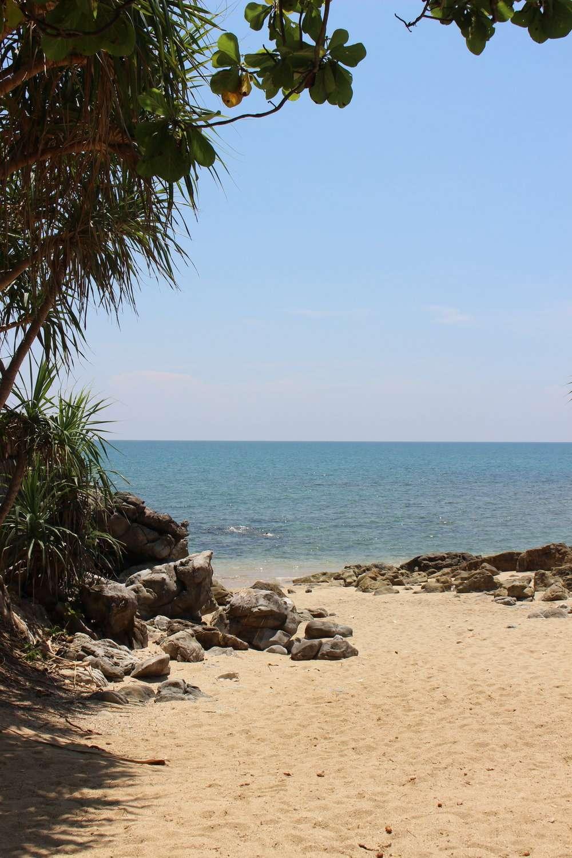 beach at Moonlight Exotic Bay Resort, Koh Lanta