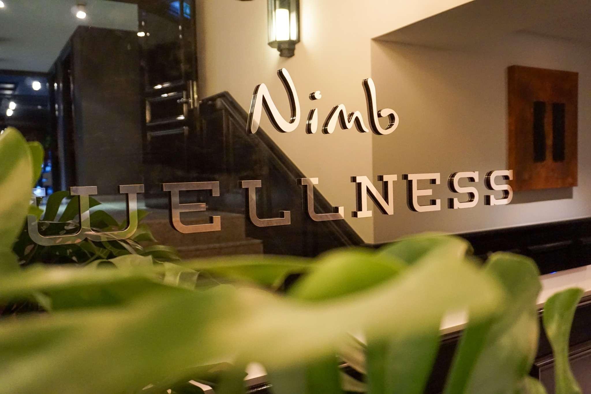 sign for Nimb Wellness Centre
