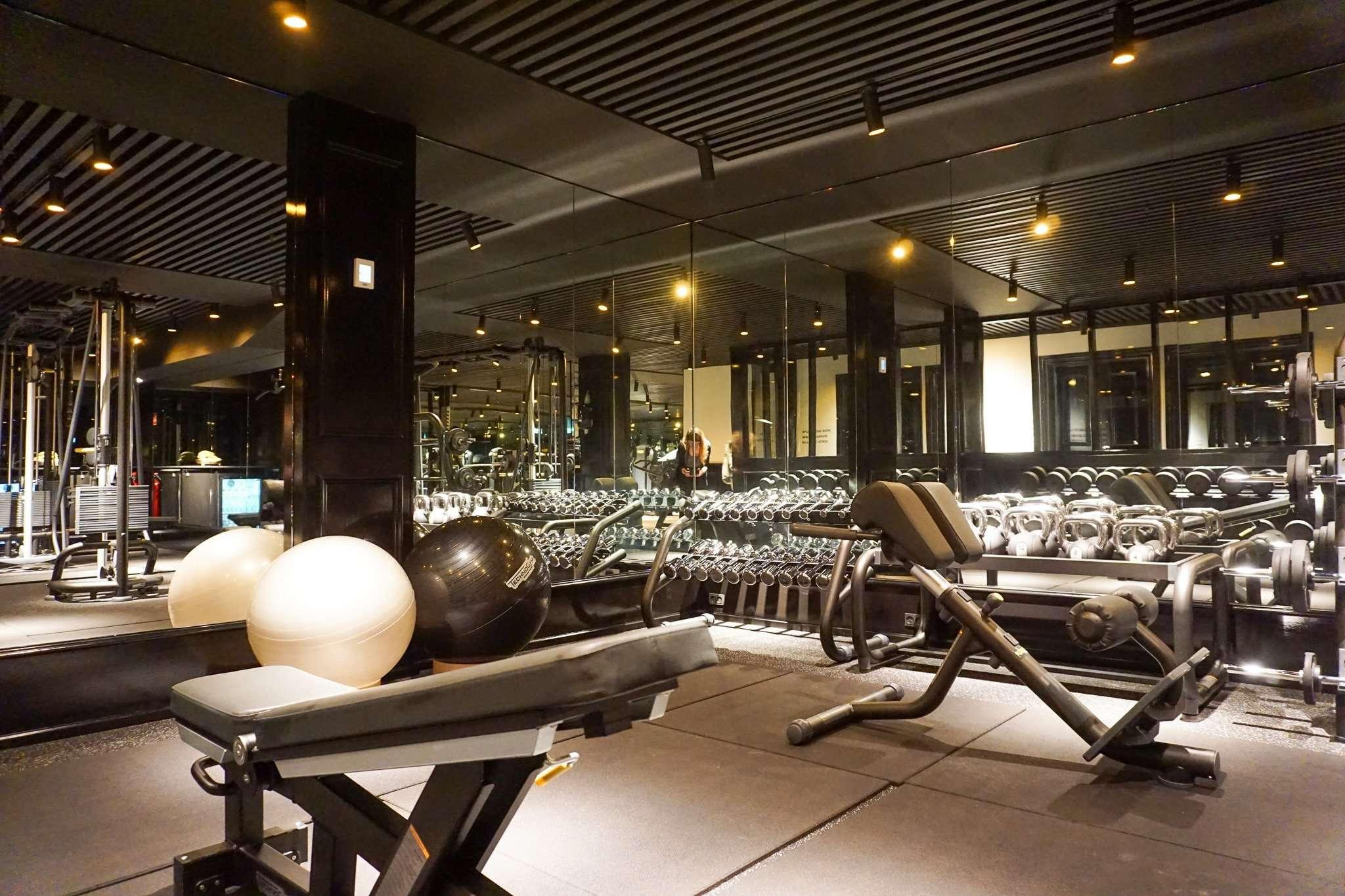 fully equipped gym at Nimb Hotel Copenhagen