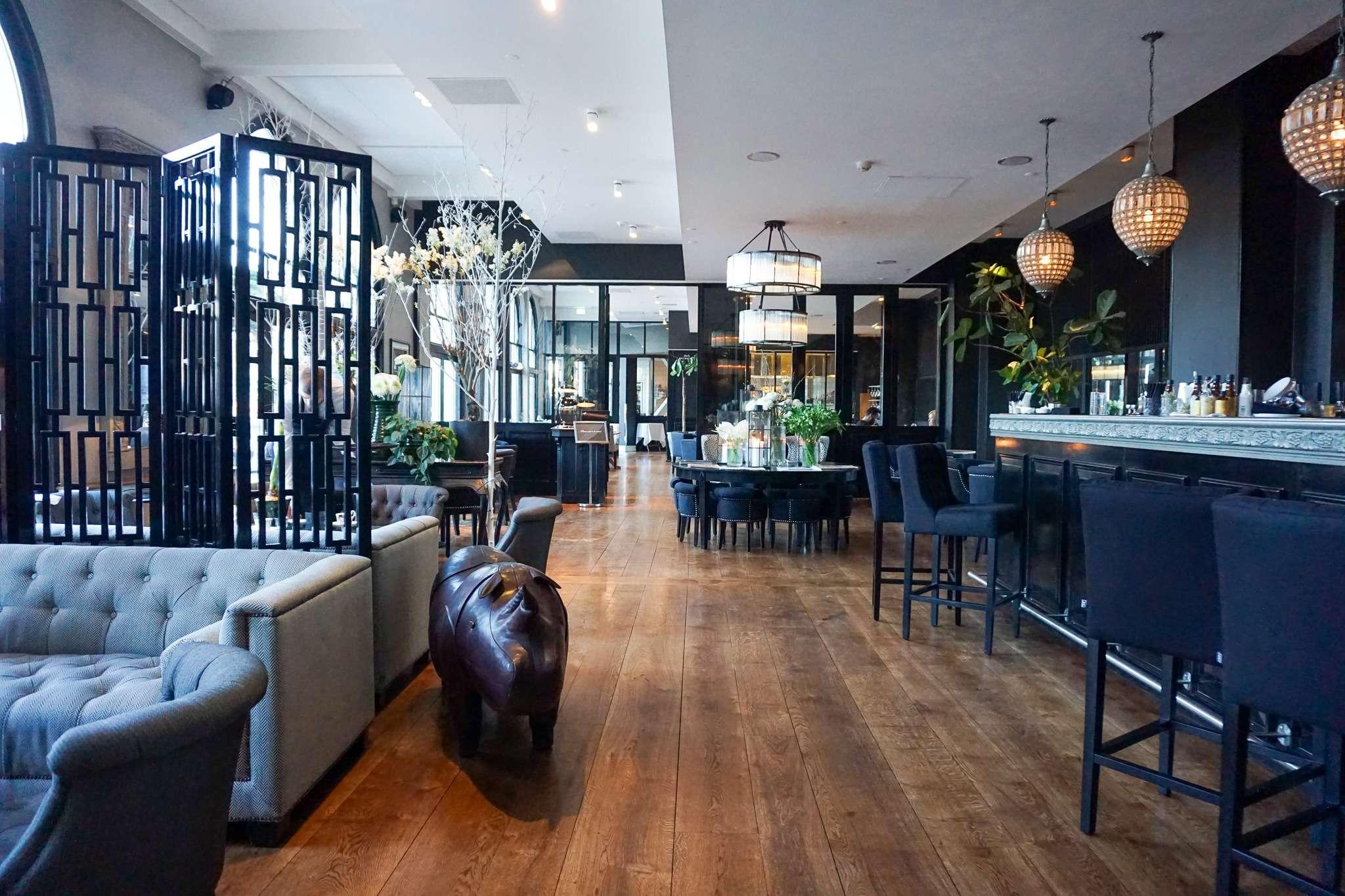 bar and dining area at Nimb Hotel Copenhagen