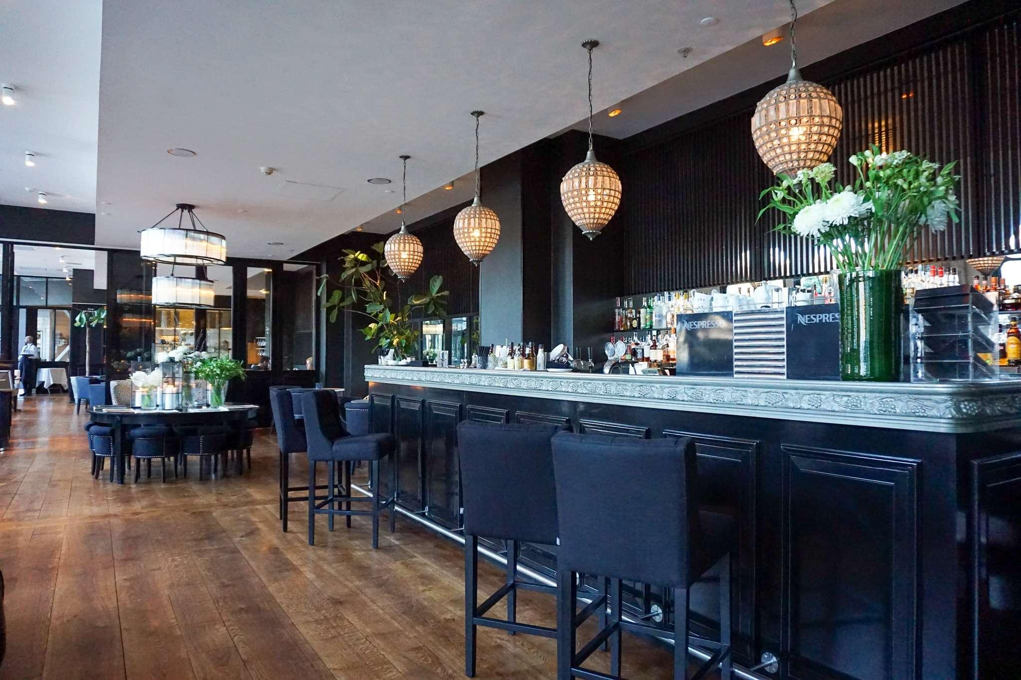 classy bar at Nimb Hotel Copenhagen