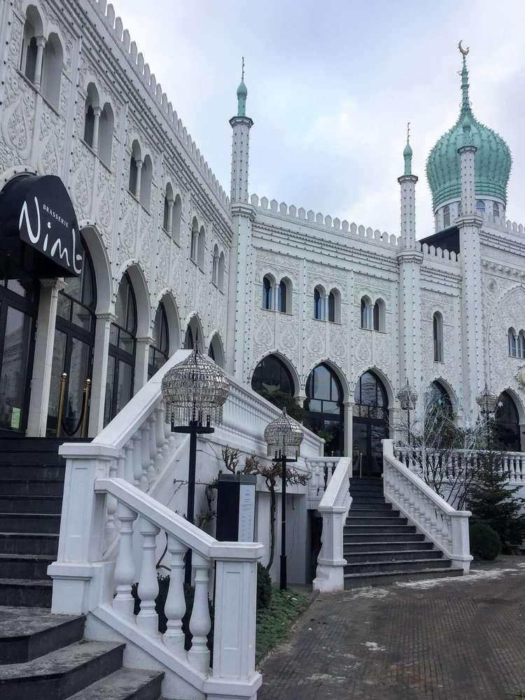 Nimb Hotel Copenhagen from Tivoli Gardens