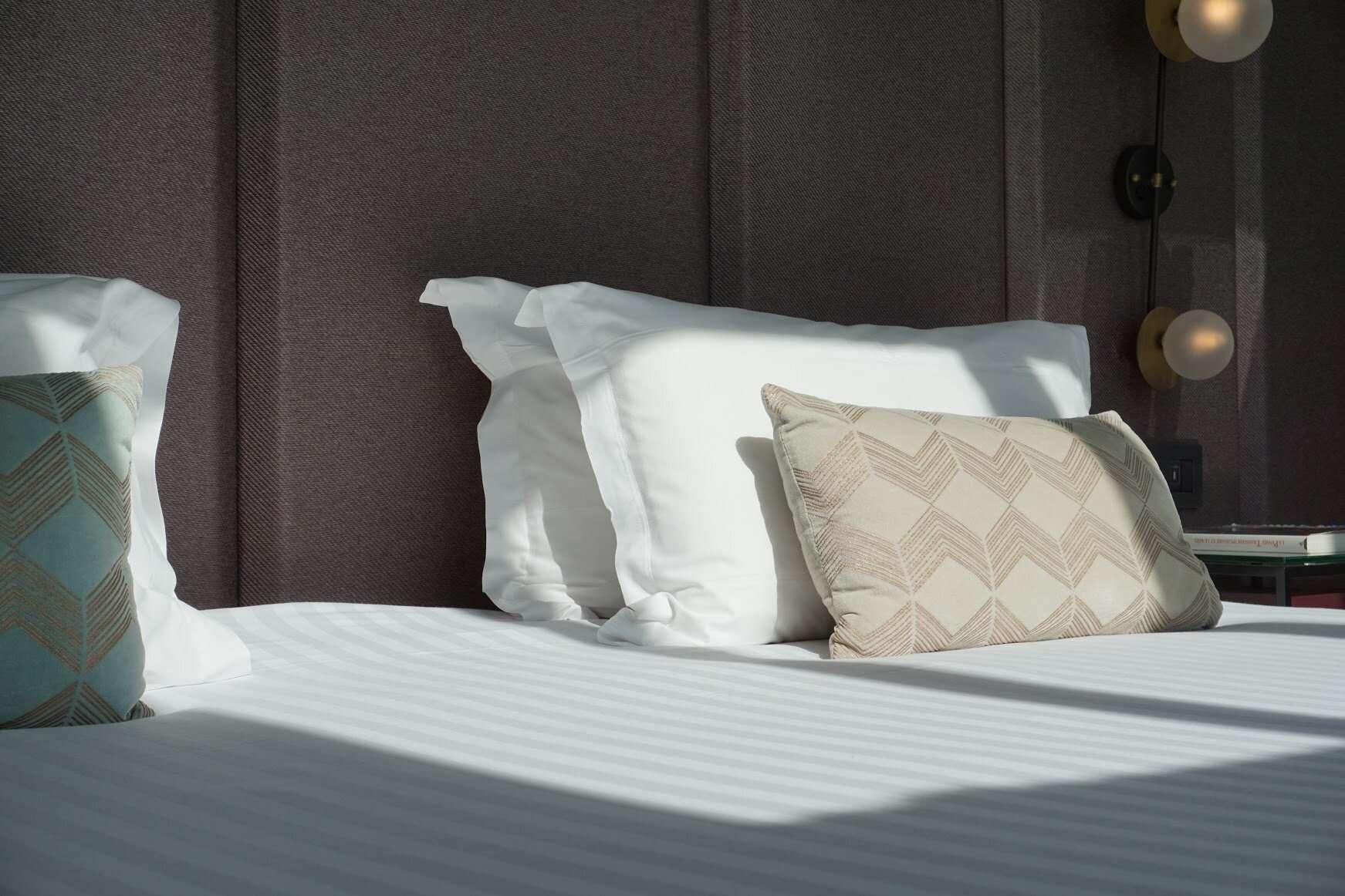 Bedroom Pillows Maison Breguet Hotel Paris