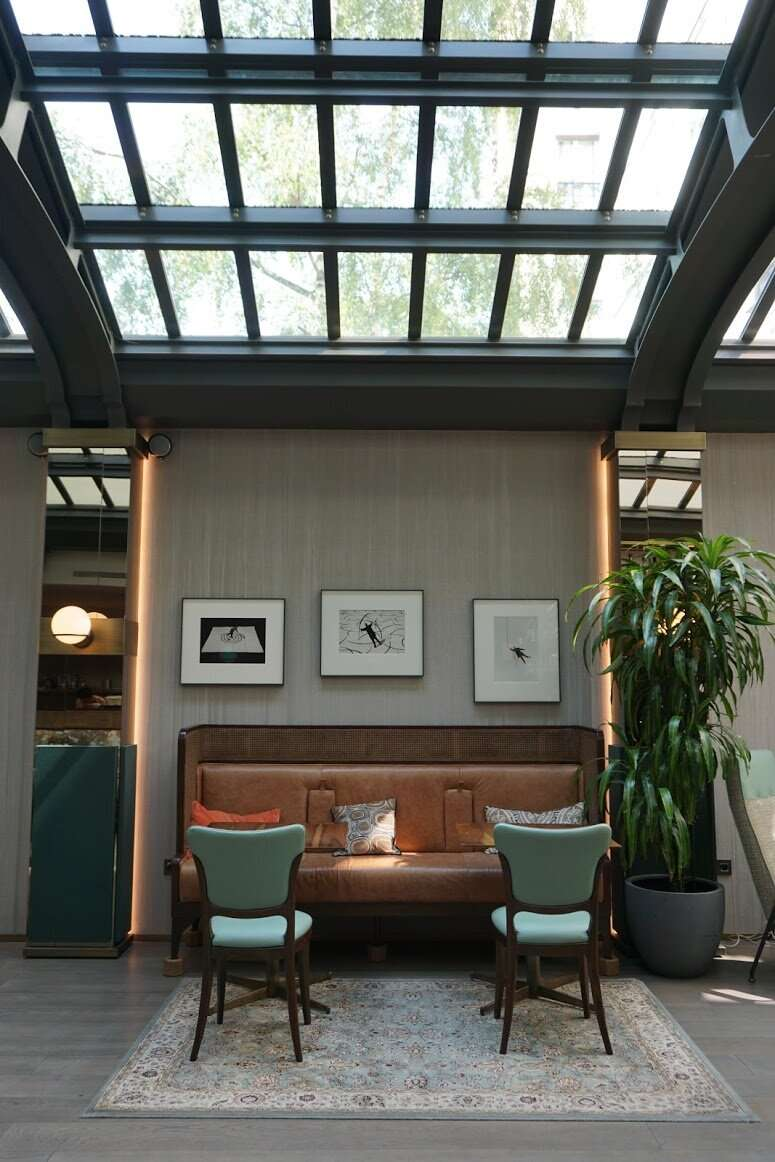 Restaurant Sky light Maison-Breguet Hotel Paris
