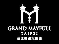 Grand Mayfull Hotel Taipei logo in white