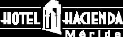Hotel Hacienda Merida logo in white