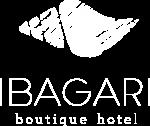 Ibagari Boutique Hotel logo in white