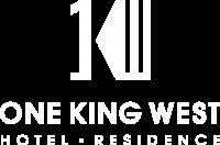 One King West Toronto logo in white