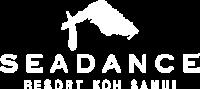 Sea Dance Resort Koh Samui logo in white