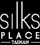 Silks Place Tainan logo in white