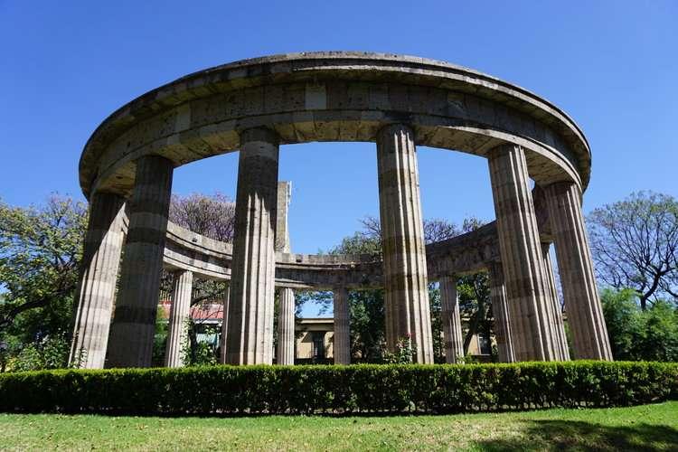Historical Monuments in Guadalajara Rotonda de los Jaliscienses Ilustres