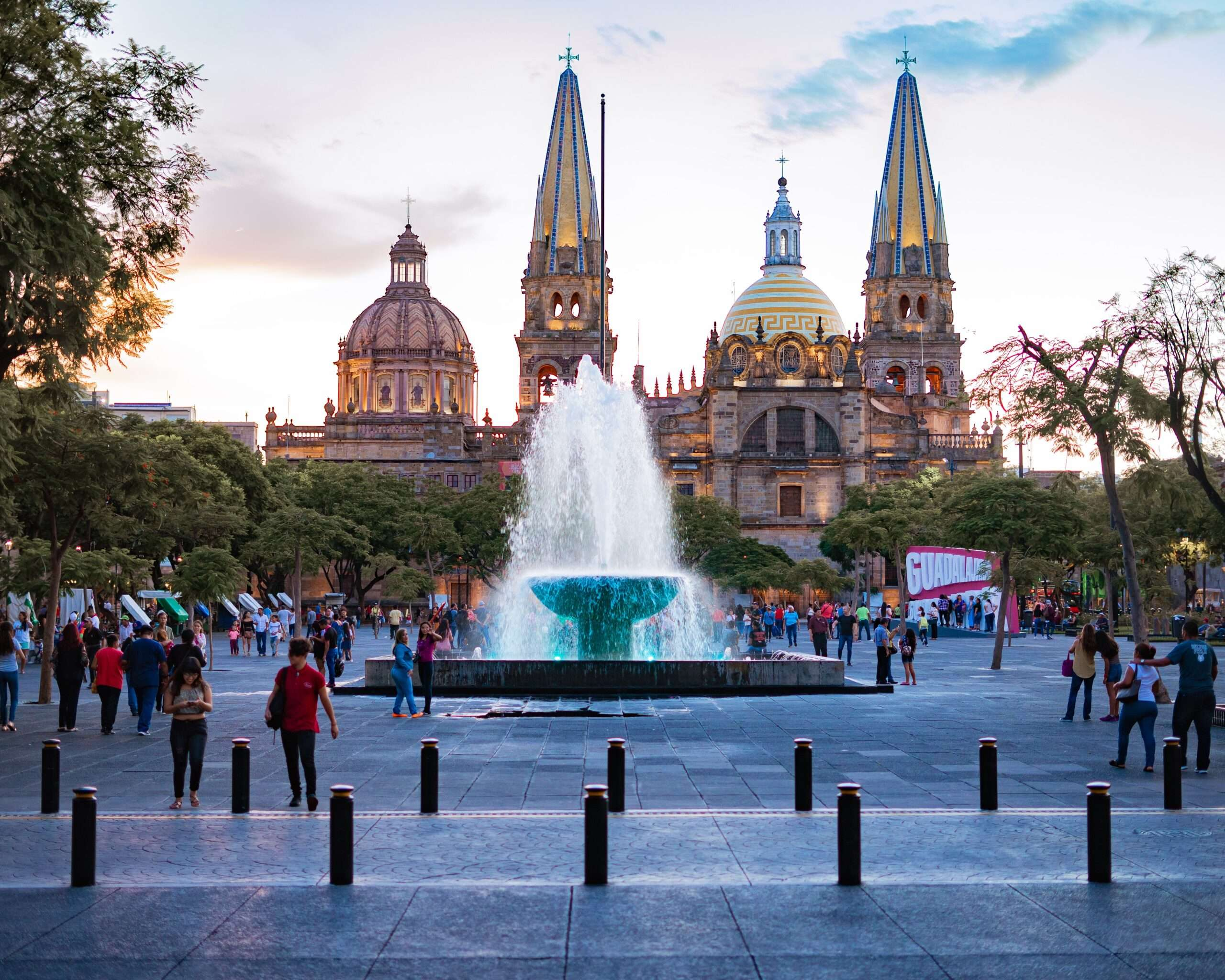 historic center of Guadalajara Mexico