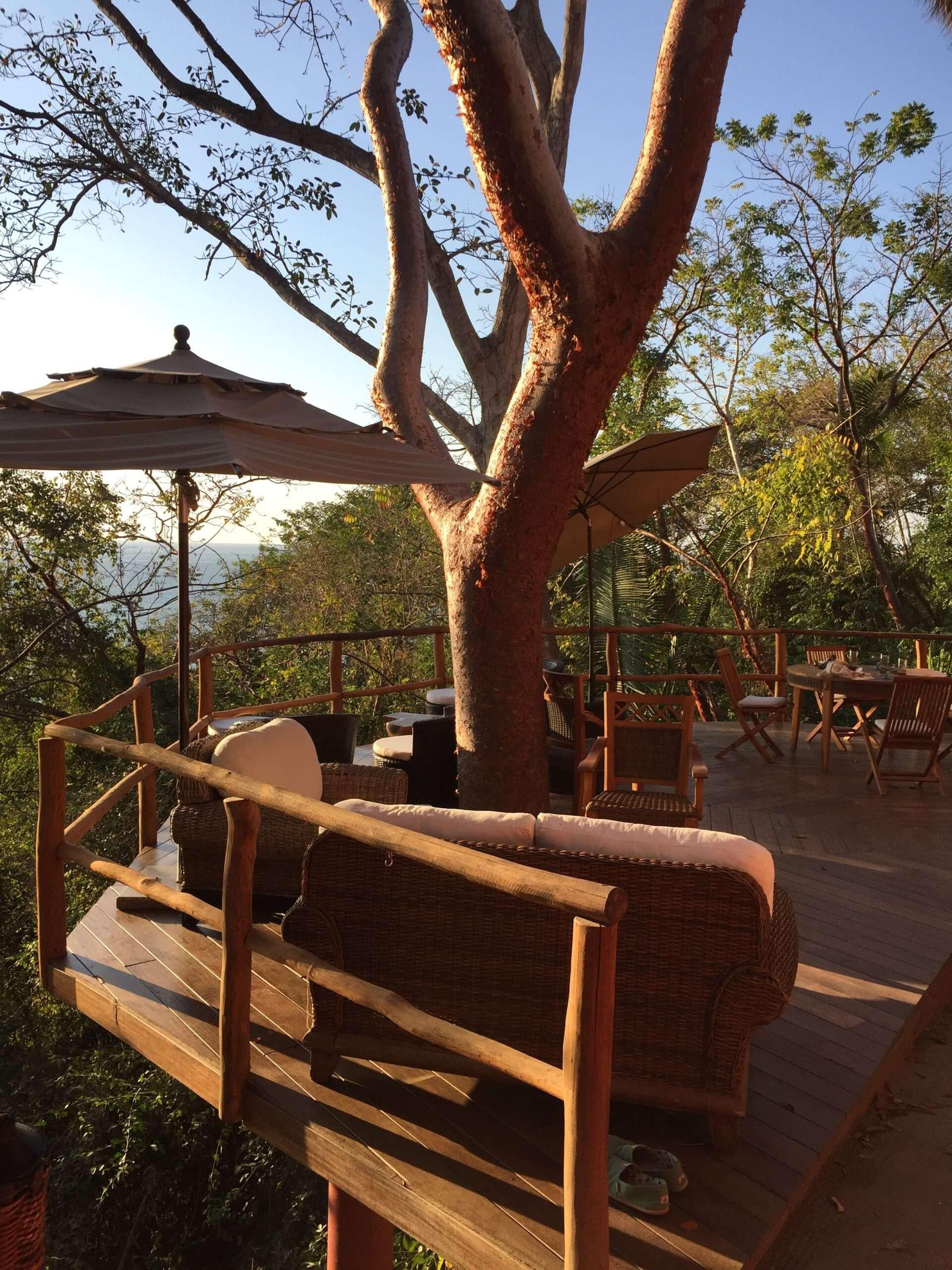 haramara retreat terrace lounge