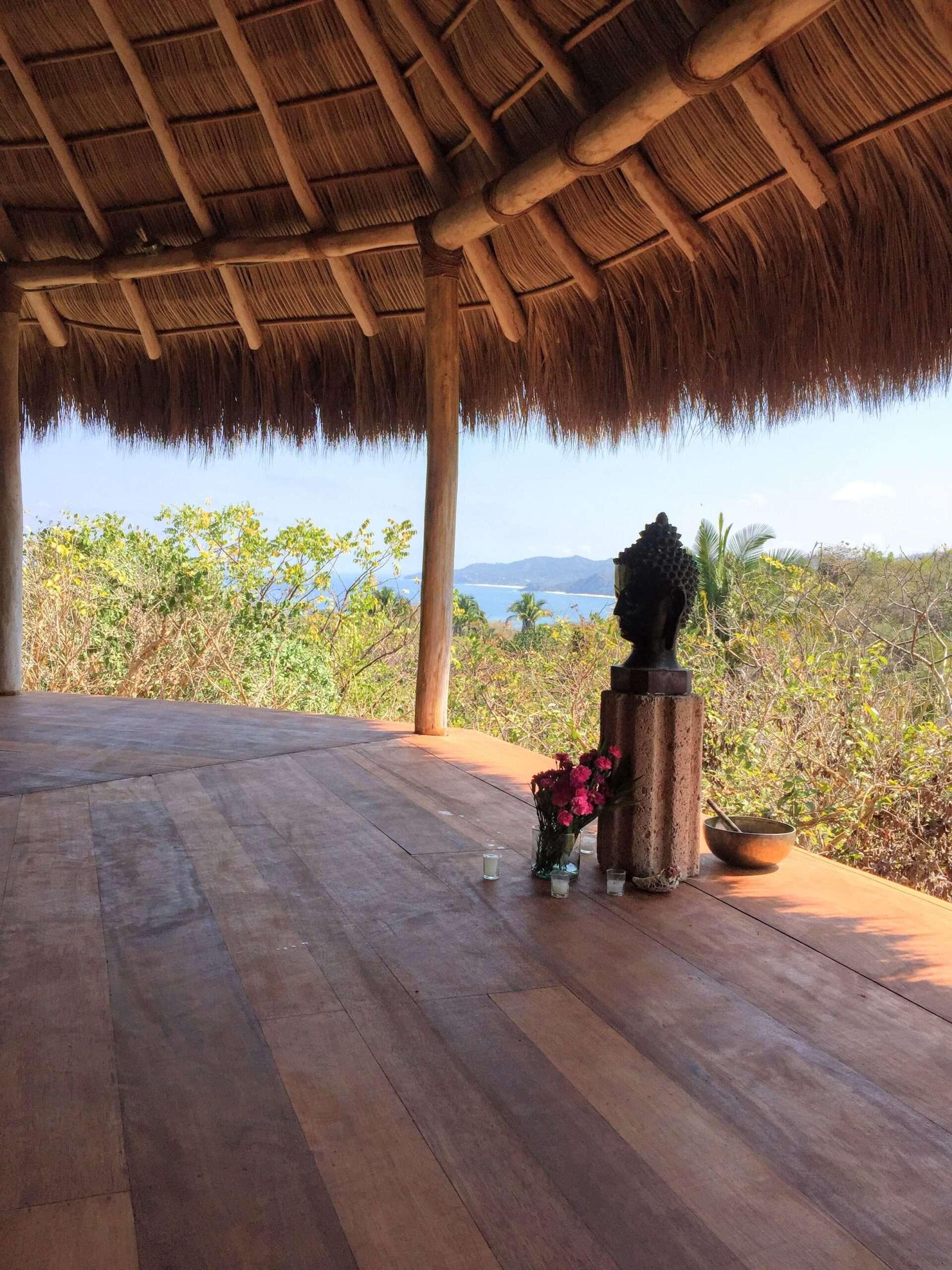 Haramara Retreat yoga studio