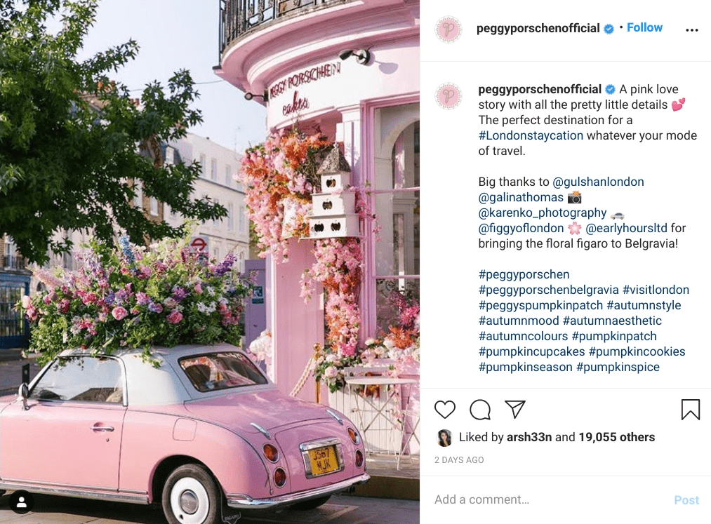 Peggy Porshen Cakes in London