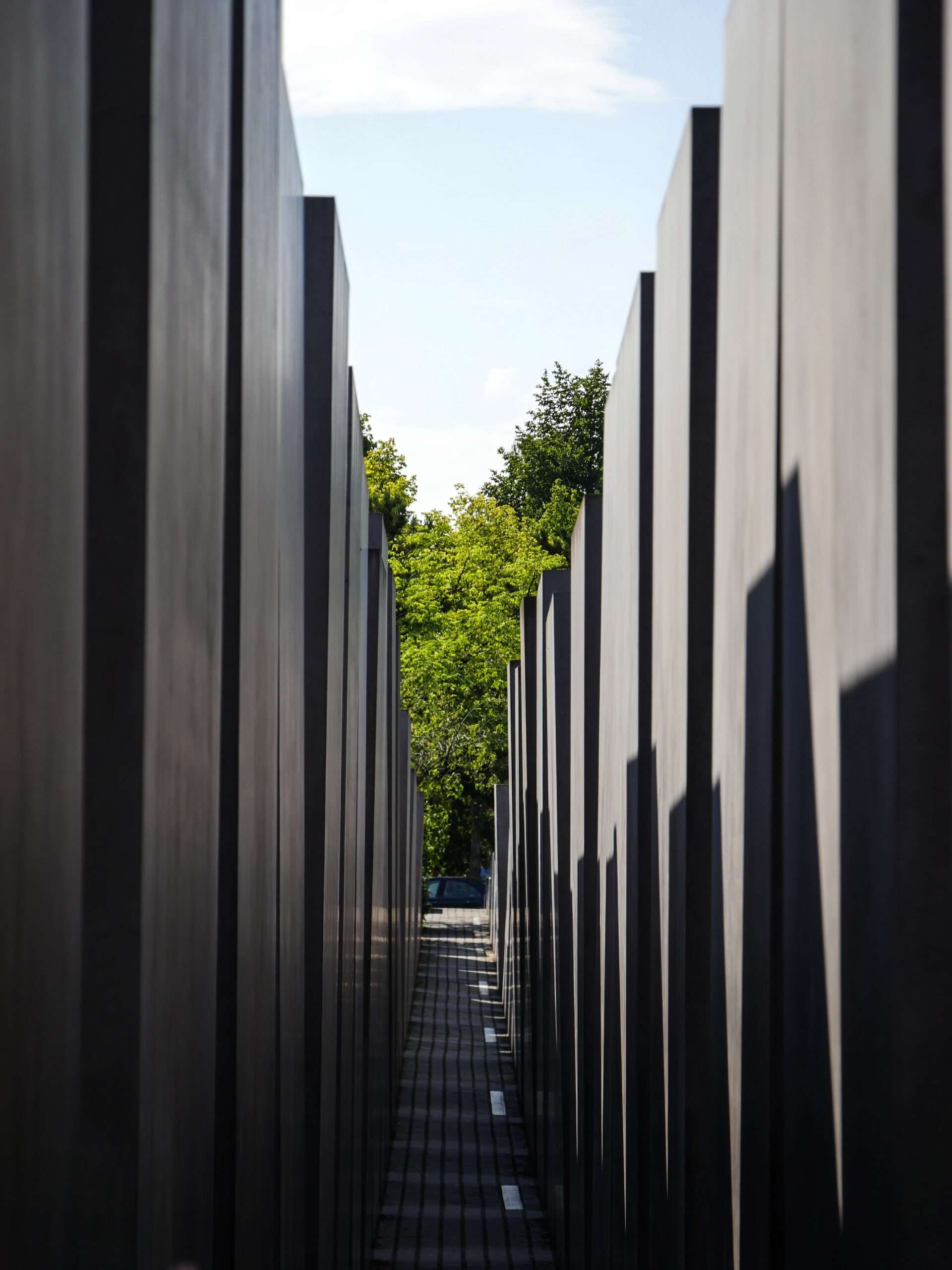 Monument to the Murdered Jews of Europe, in Berlin