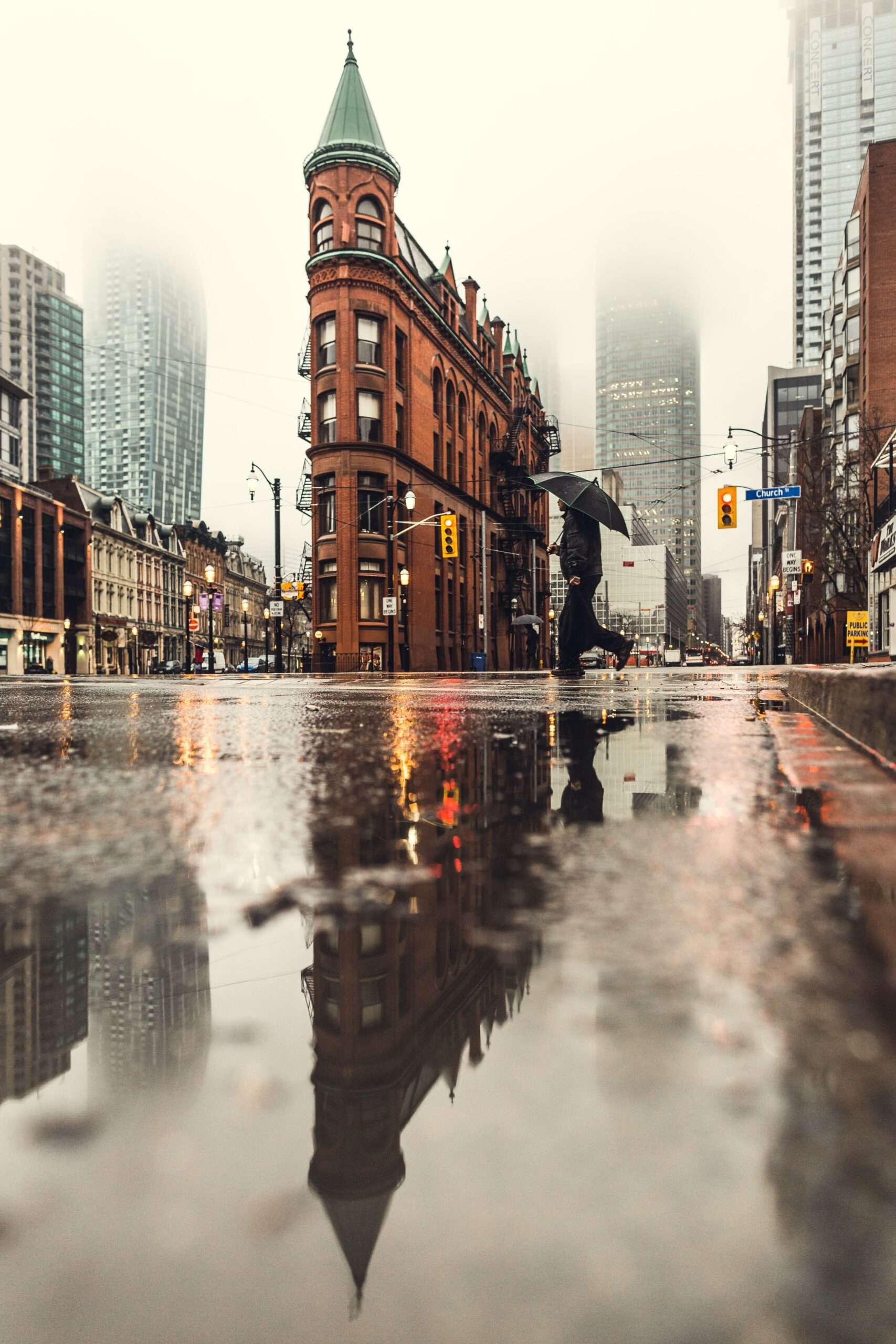 TTC modern street car in Toronto